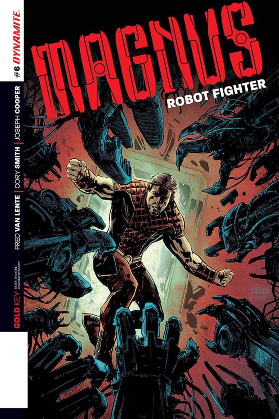 Magnus Robot Fighter Vol 4 #6 Cover A Regular Gabriel Hardman Cover