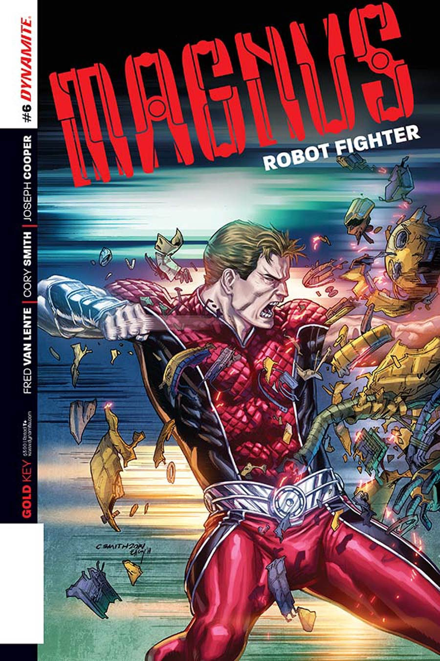Magnus Robot Fighter Vol 4 #6 Cover B Variant Cory Smith Subscription Cover