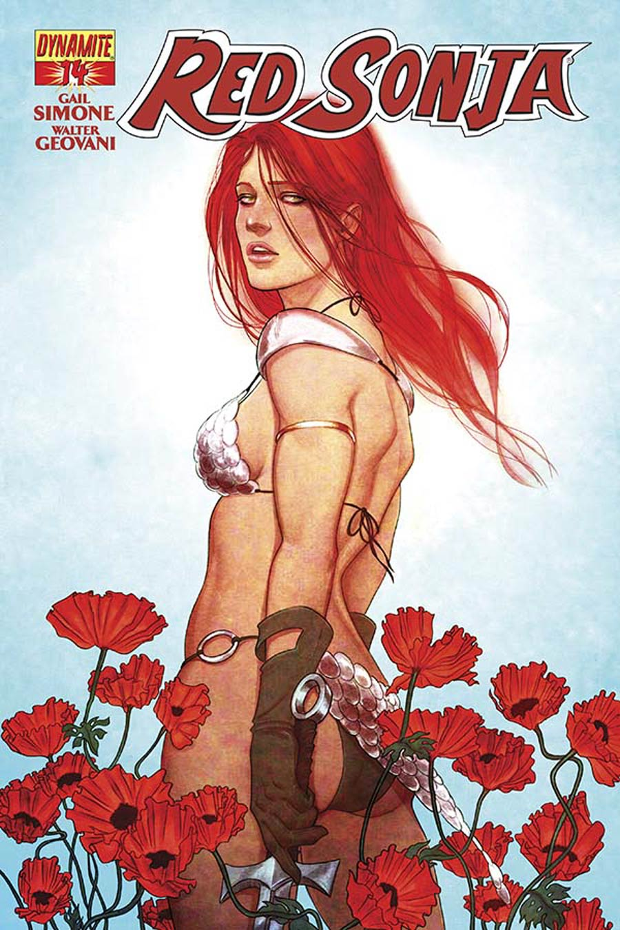 Red Sonja Vol 5 #14 Cover A Regular Jenny Frison Cover
