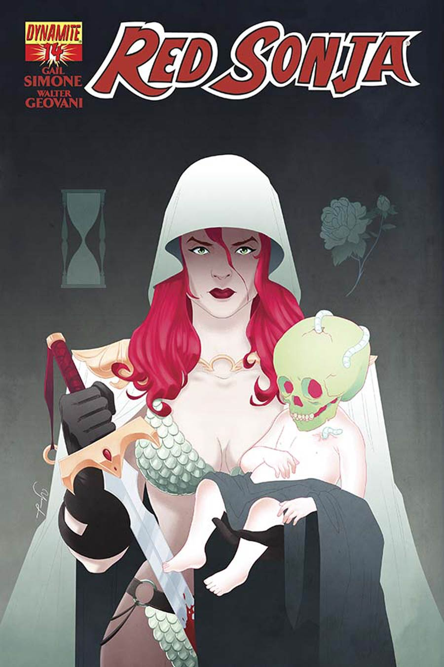 Red Sonja Vol 5 #14 Cover B Variant Yasmin Liang Cover