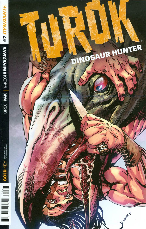 Turok Dinosaur Hunter Vol 2 #7 Cover A Regular Bart Sears Cover