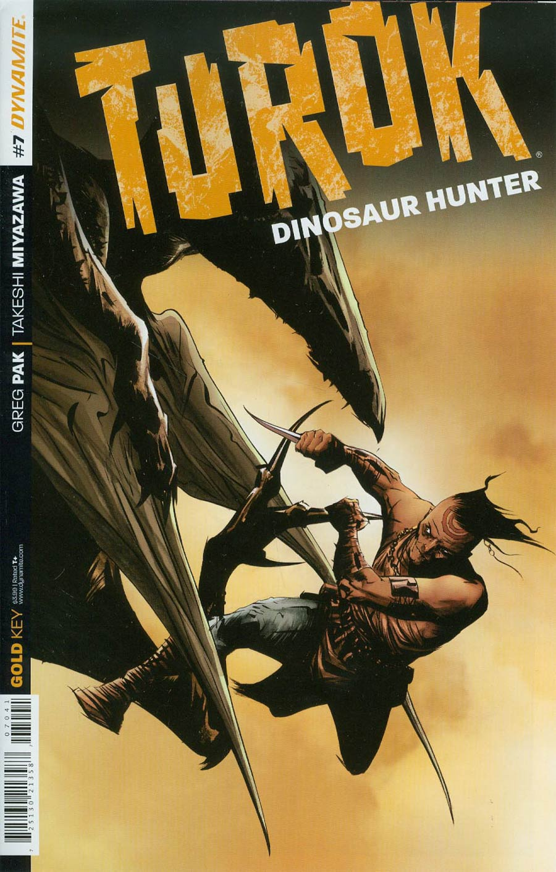 Turok Dinosaur Hunter Vol 2 #7 Cover B Variant Jae Lee Subscription Cover