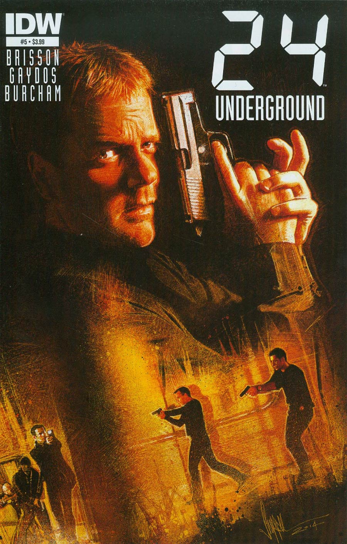 24 Underground #5 Cover A Regular Paul Shipper Cover