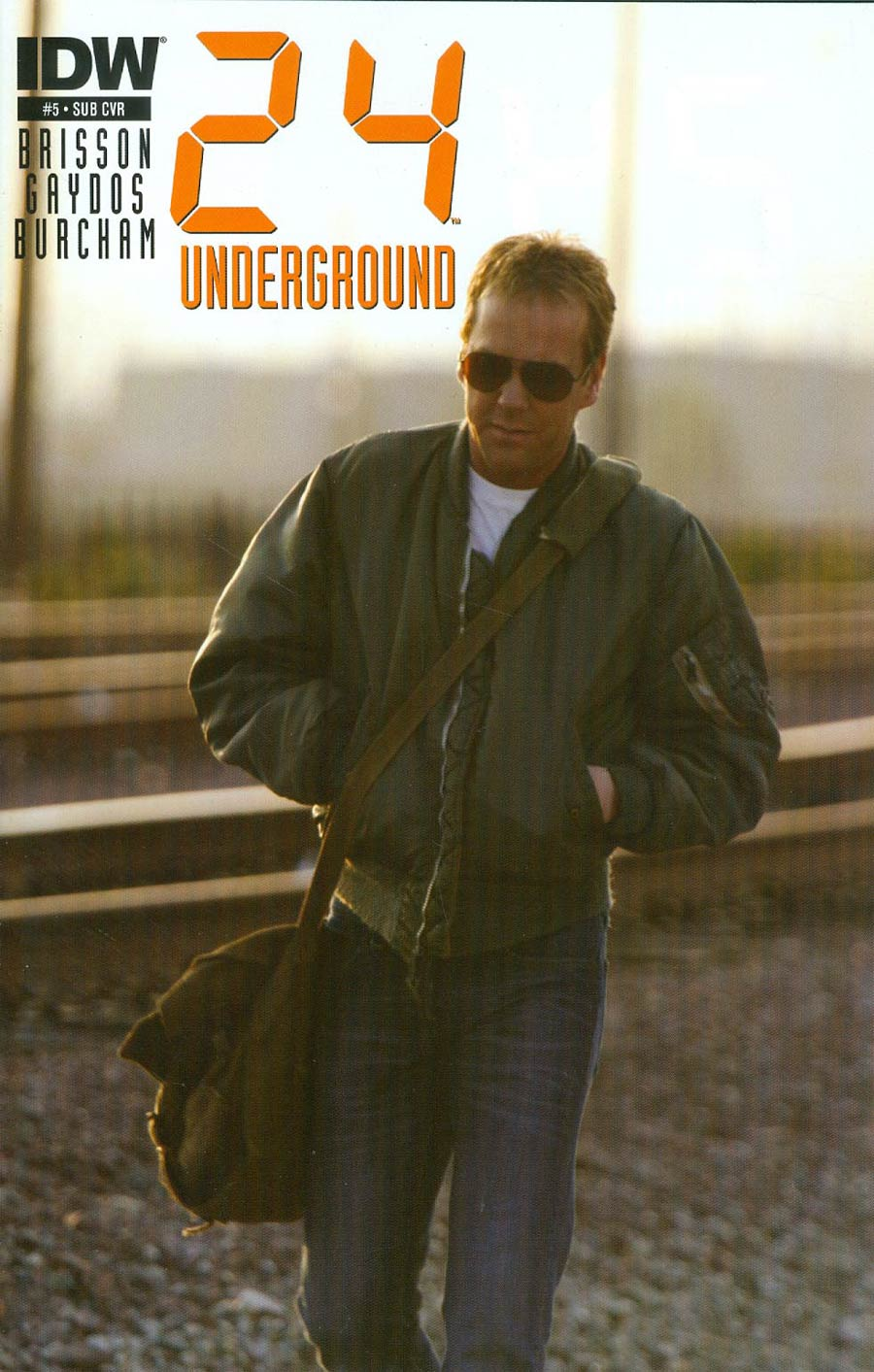 24 Underground #5 Cover B Variant Photo Subscription Cover