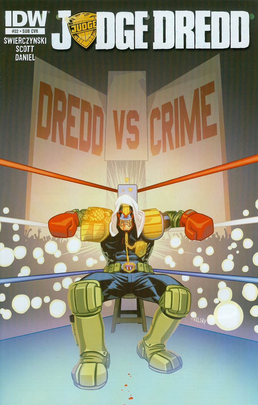 Judge Dredd Vol 4 #22 Cover B Variant Kelsey Shannon Subscription Cover