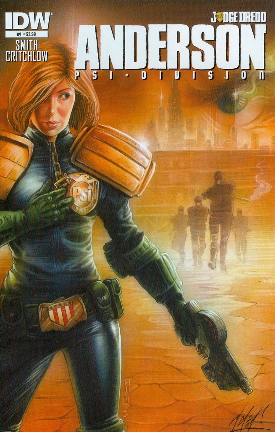 Judge Dredd Anderson Psi-Division #1 Cover A Regular Matt Haley Cover