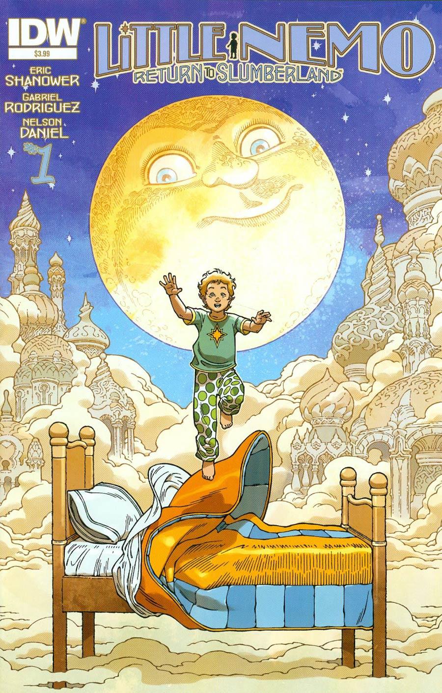 Little Nemo Return To Slumberland #1 Cover A 1st Ptg Regular Gabriel Rodriguez Cover