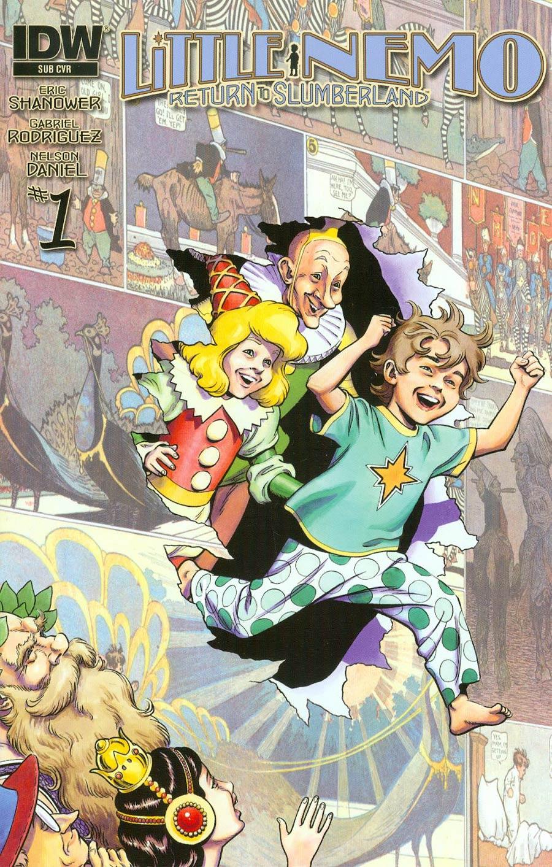 Little Nemo Return To Slumberland #1 Cover B 1st Ptg Variant Eric Shanower Subscription Cover