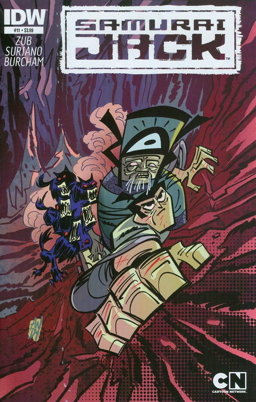 Samurai Jack #11 Cover A Regular Andy Suriano Cover