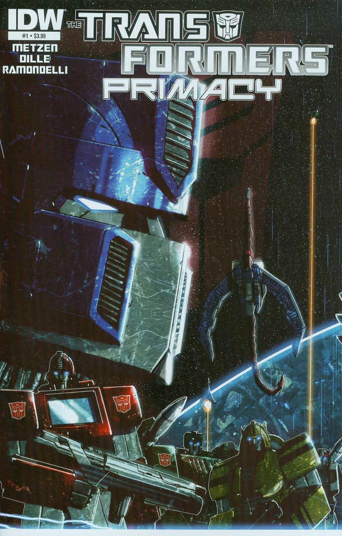 Transformers Primacy #1 Cover A Regular Livio Ramondelli Cover