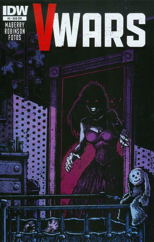 V-Wars #5 Cover B Variant Kevin Eastman Subscription Cover