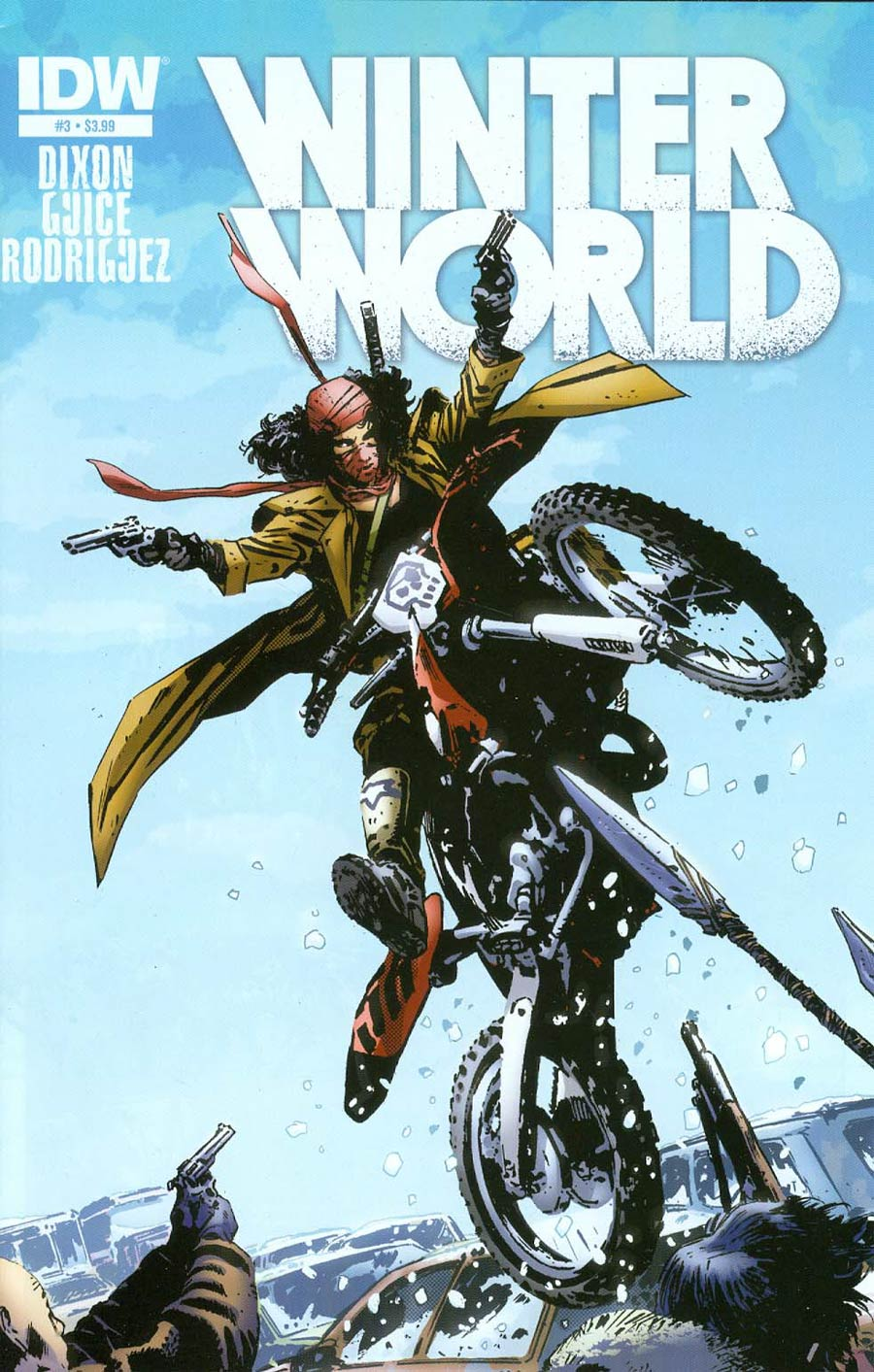Winterworld Vol 2 #3 Cover A Regular Butch Guice Cover