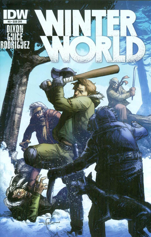 Winterworld Vol 2 #3 Cover B Variant Gerardo Zaffino Subscription Cover