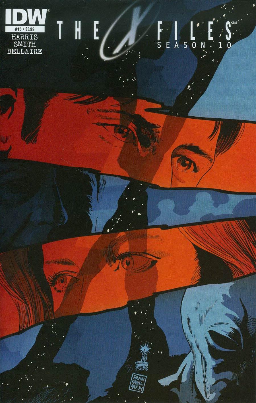 X-Files Season 10 #15 Cover A Regular Francesco Francavilla Cover
