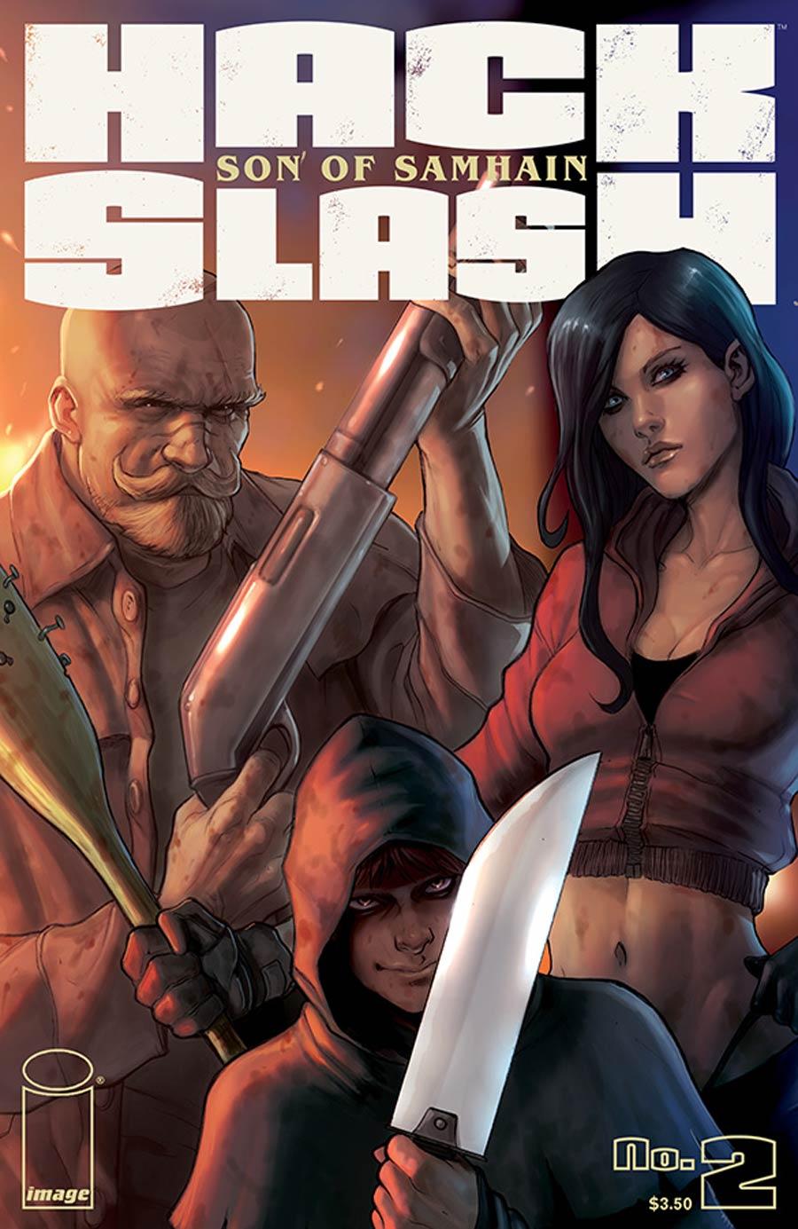 Hack Slash Son Of Samhain #2