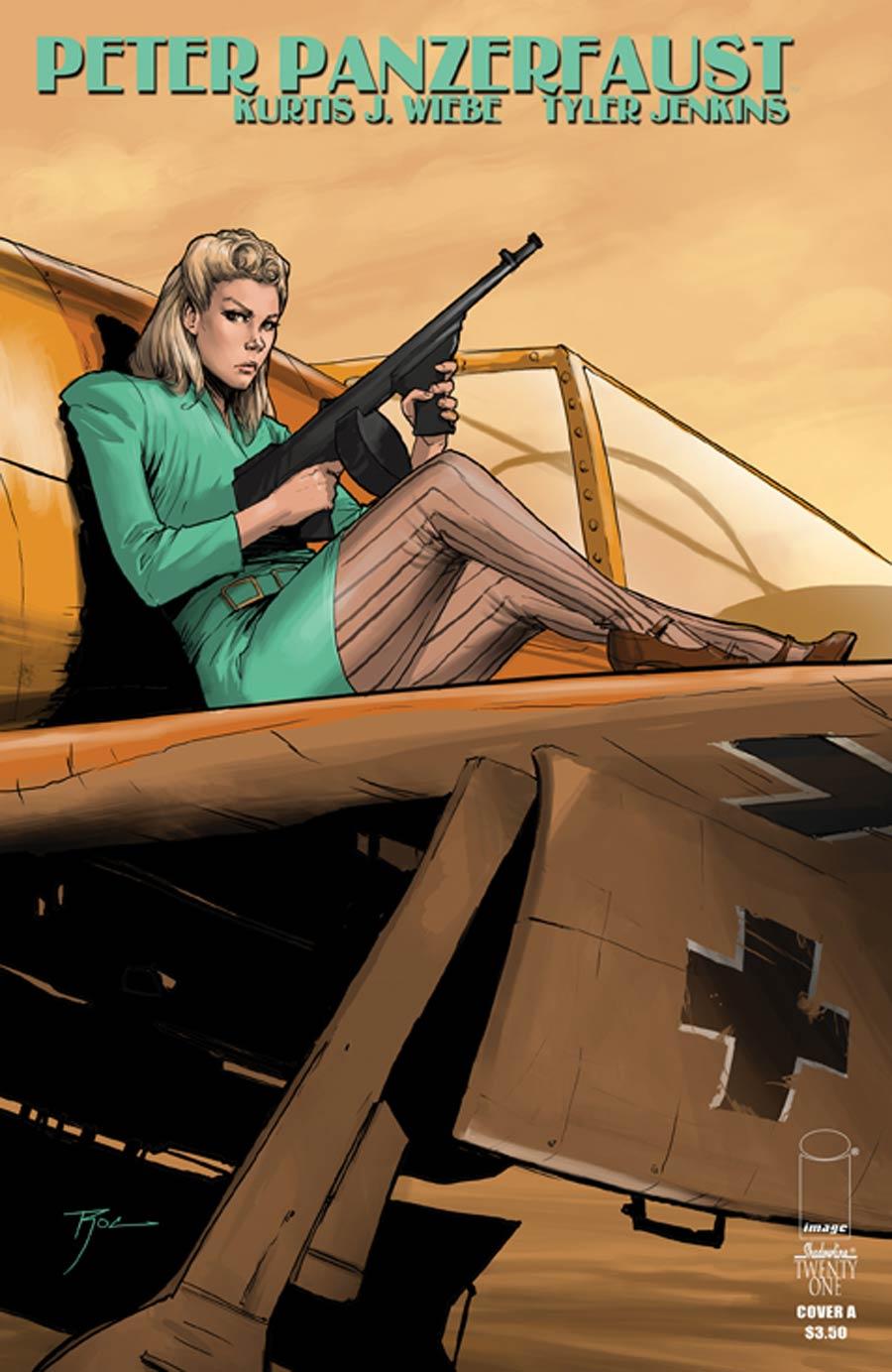 Peter Panzerfaust #21 Cover A Regular Roc Upchurch Cover