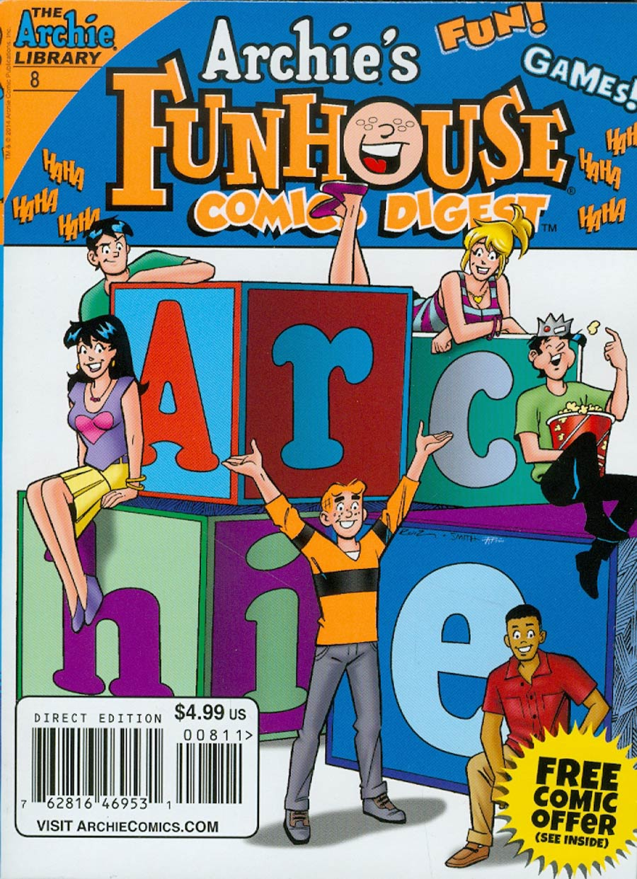 Archies Funhouse Comics Digest #8