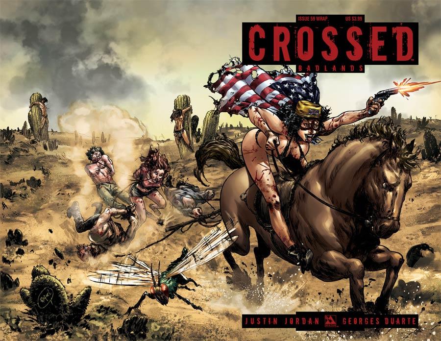 Crossed Badlands #59 Cover B Wraparound Cover