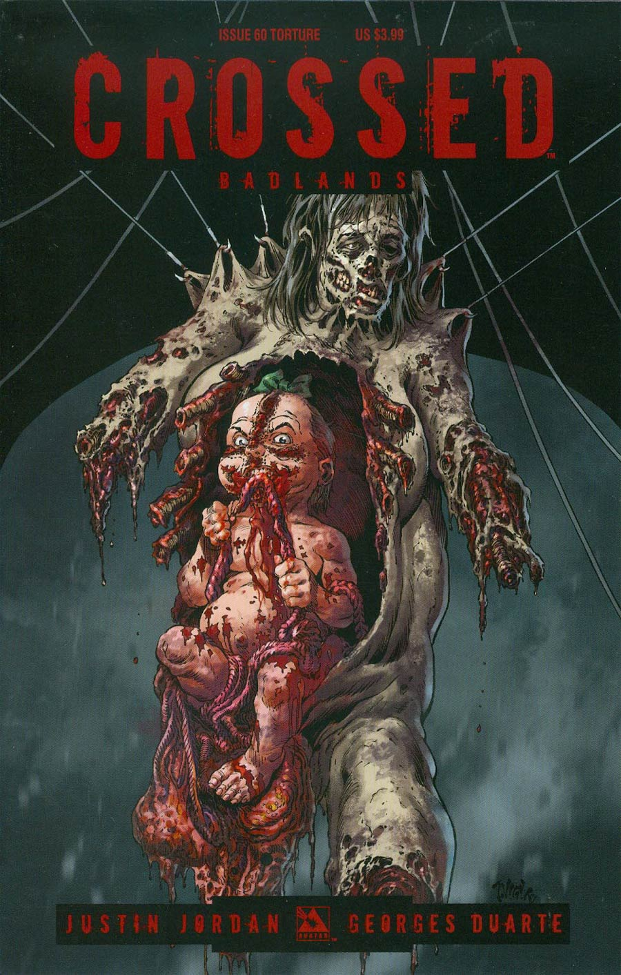 Crossed Badlands #60 Cover C Torture Cover