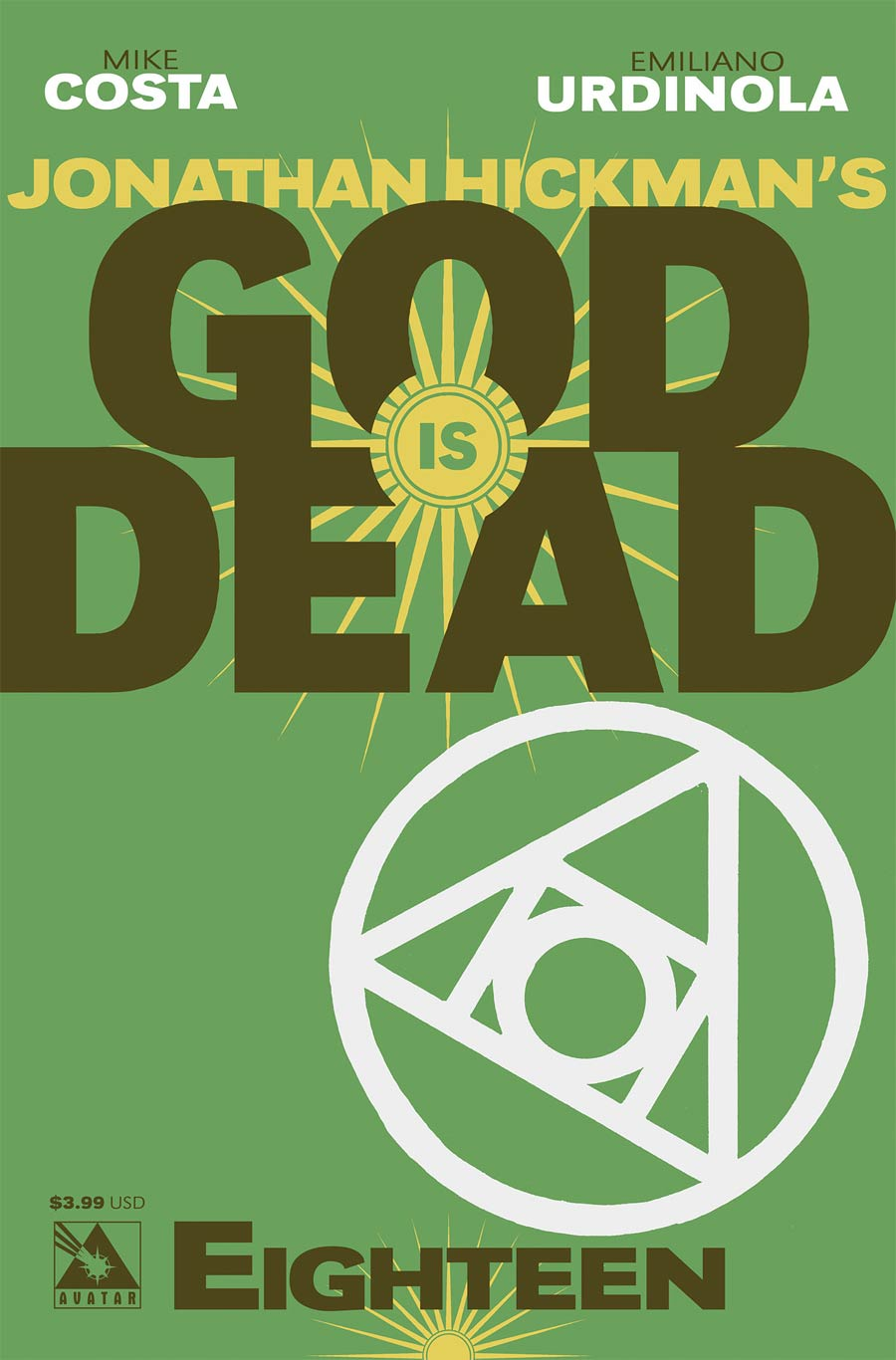 God Is Dead #18 Cover A Regular Cover