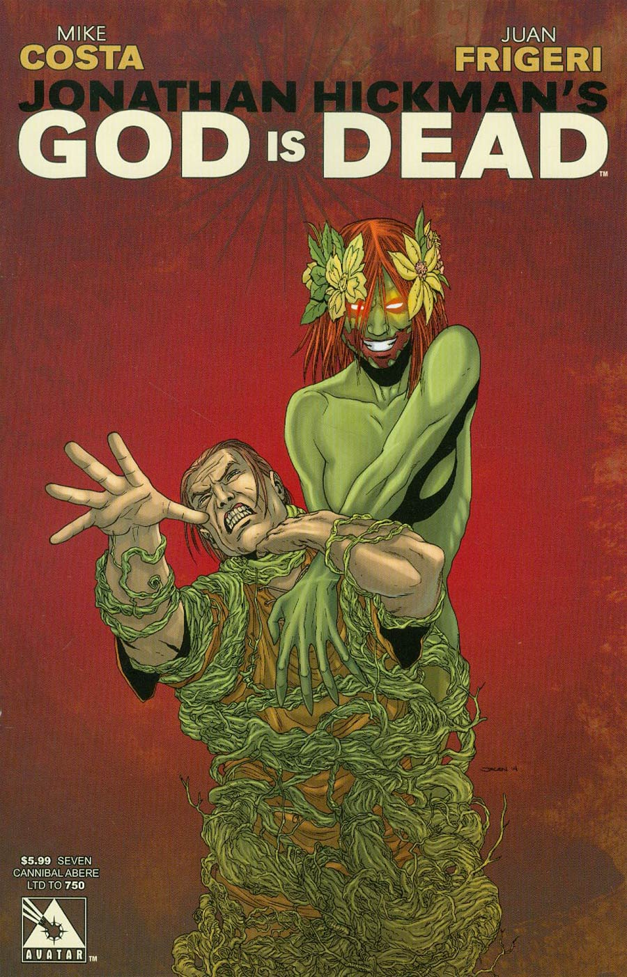 God Is Dead #7 Cover H Cannibal Abere Cover