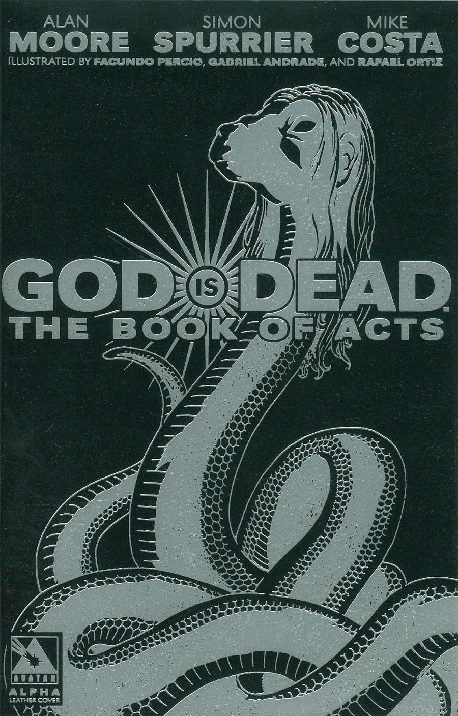 God Is Dead Book Of Acts Alpha Cover E Glycon Leather Cover