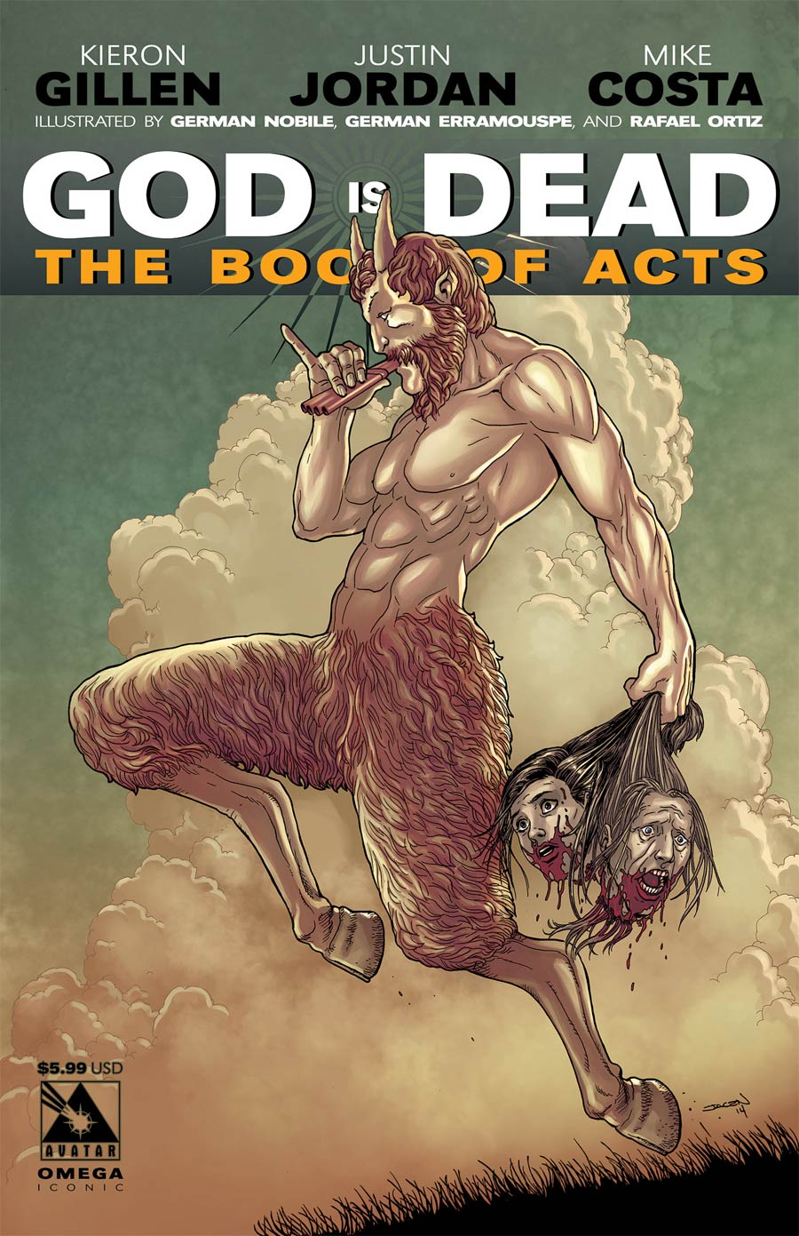 God Is Dead Book Of Acts Omega Cover D Iconic Cover