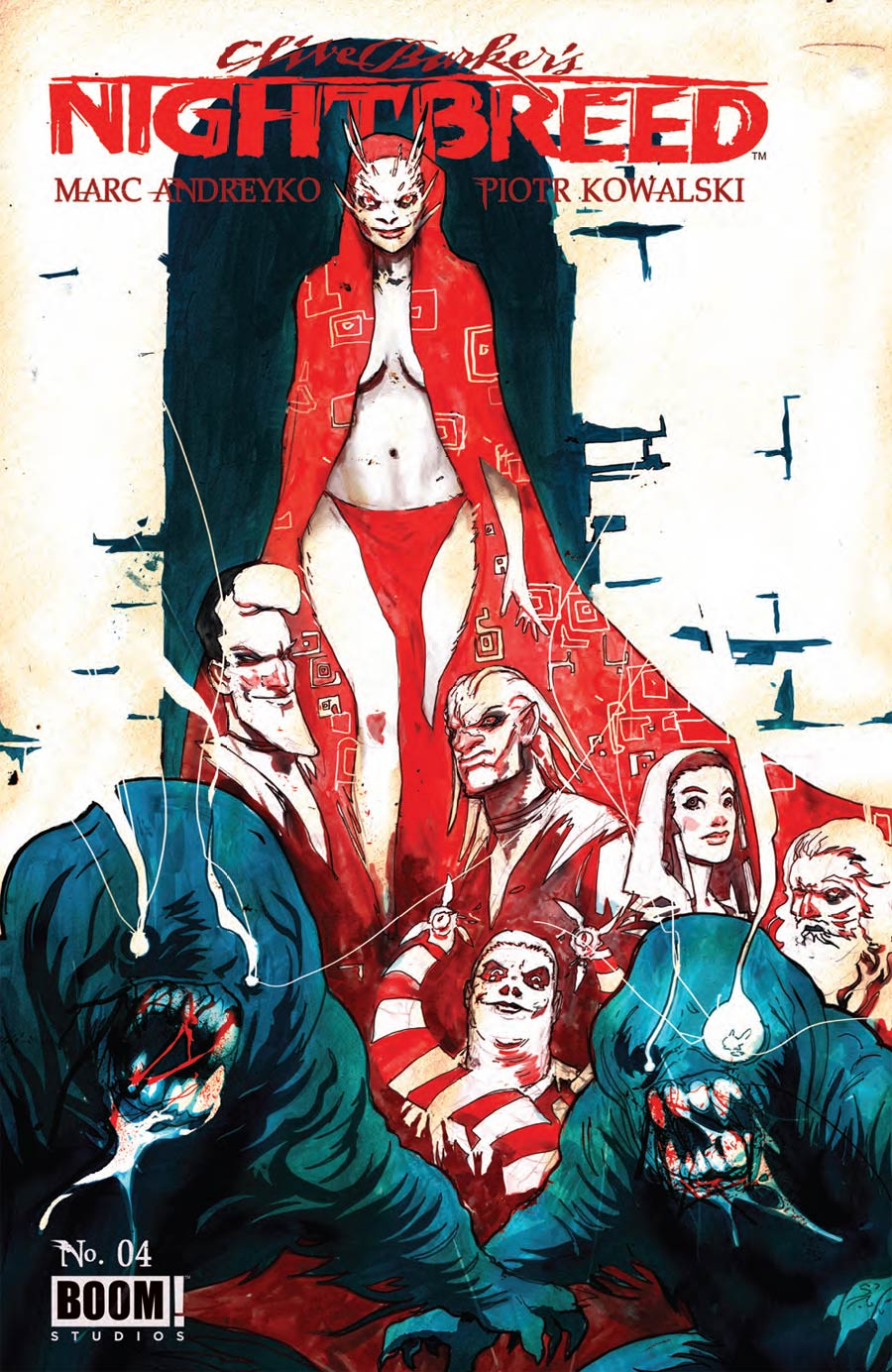 Clive Barkers Nightbreed Vol 2 #4 Cover A Regular Riley Rossmo Cover