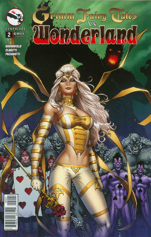 Grimm Fairy Tales vs Wonderland #2 Cover B Jason Metcalf