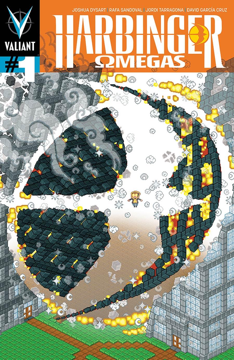 Harbinger Omegas #1 Cover B Variant Donovan Santiago ValiantCraft Cover