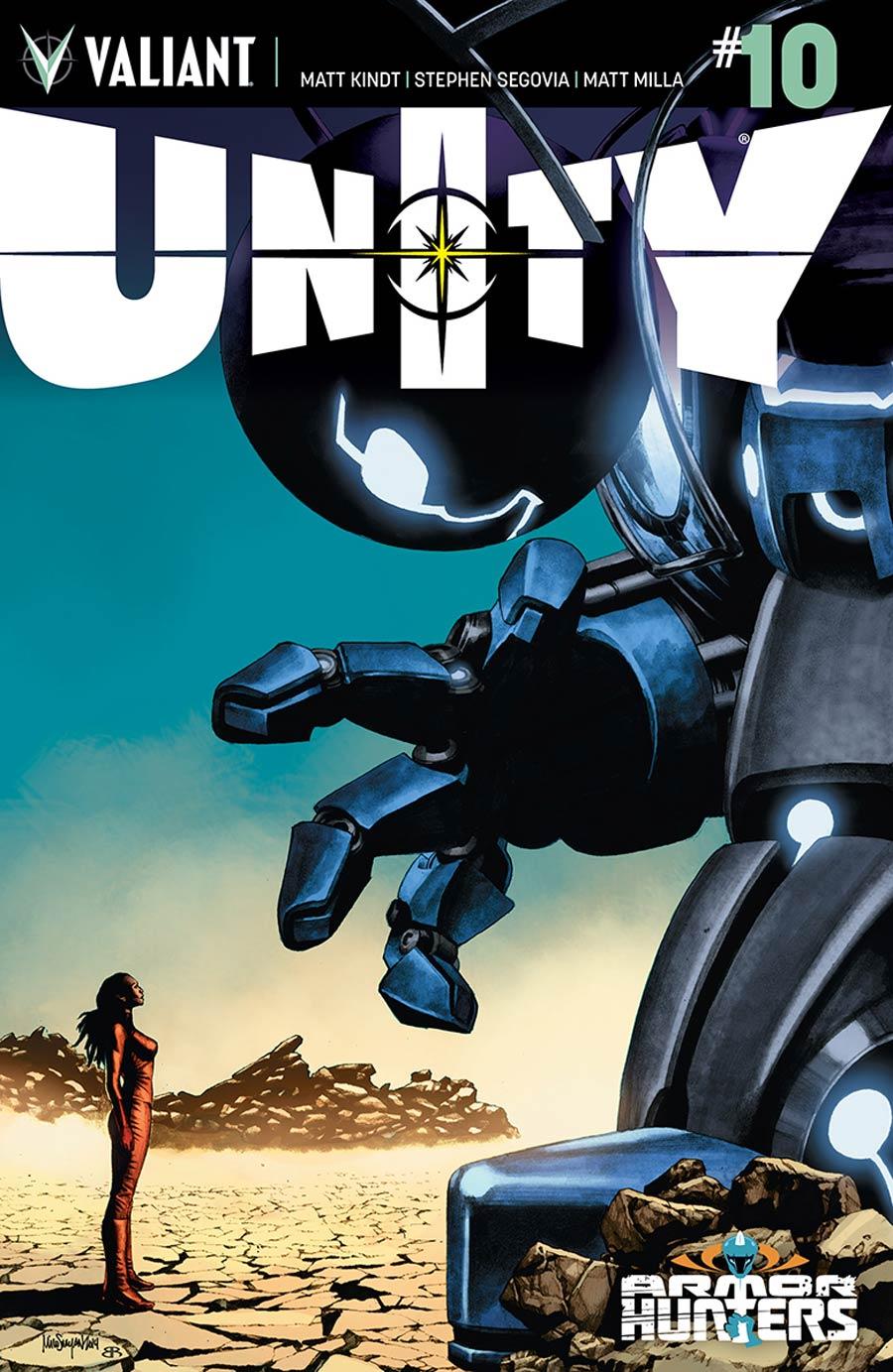 Unity Vol 2 #10 Cover A Regular Mico Suayan Cover (Armor Hunters Tie-In)