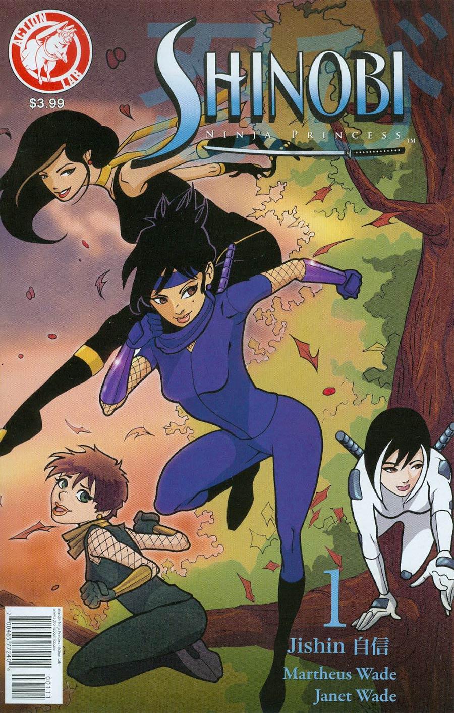Shinobi Ninja Princess #1 Cover A Regular Martheus Wade Cover