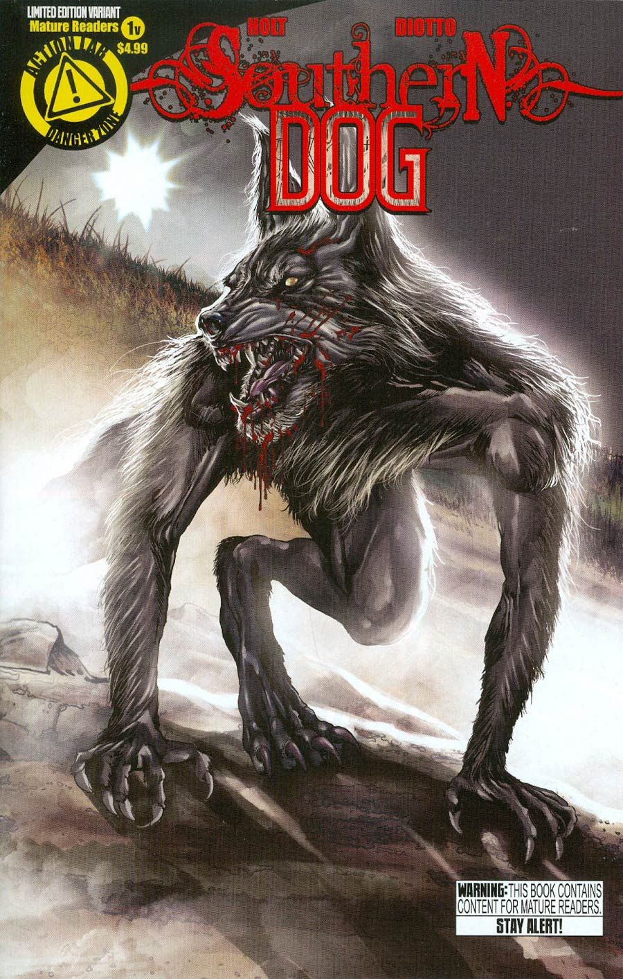 Southern Dog #1 Cover B Variant Mehdi Cheggour Cover