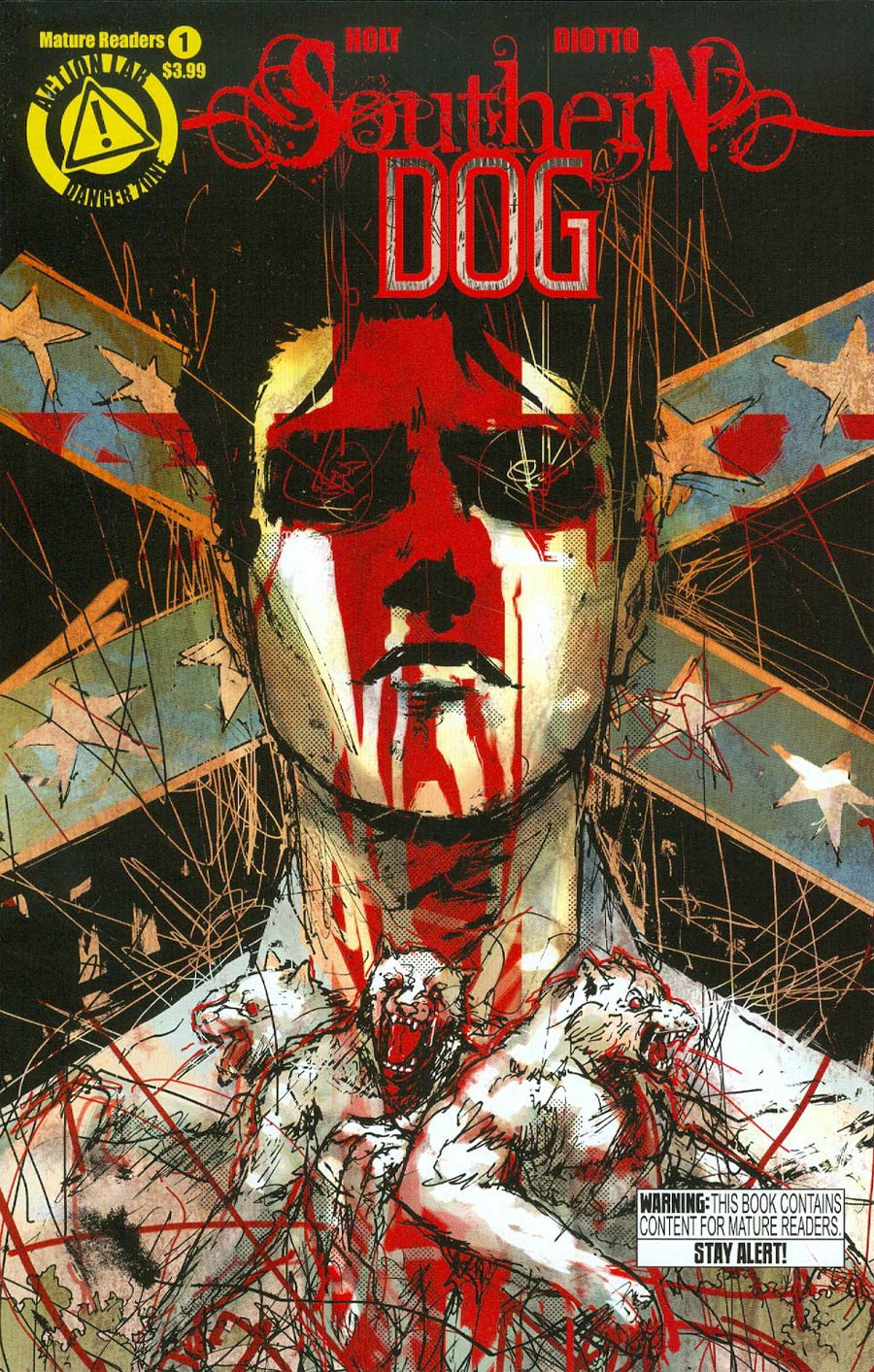 Southern Dog #1 Cover A Regular Riley Rossmo Cover