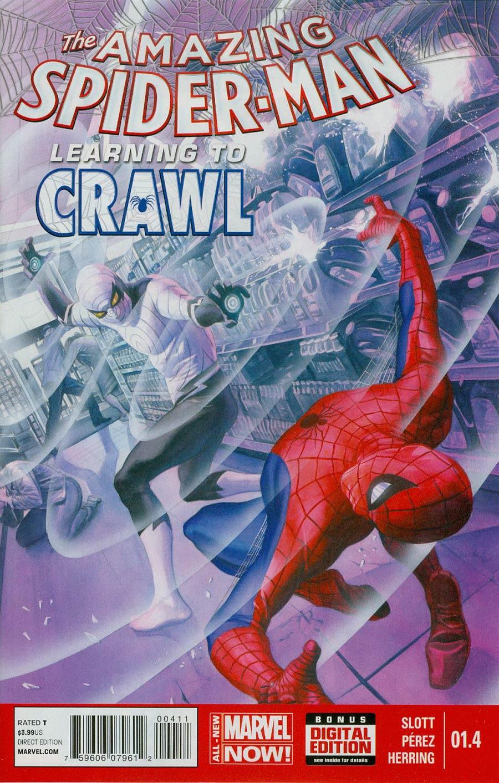 Amazing Spider-Man Vol 3 #1.4 Cover A Regular Alex Ross Cover