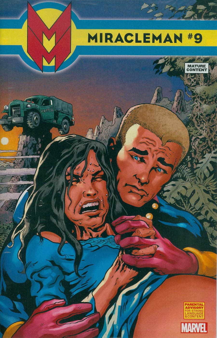 Miracleman (Marvel) #9 Cover A Regular Rick Veitch Cover With Polybag