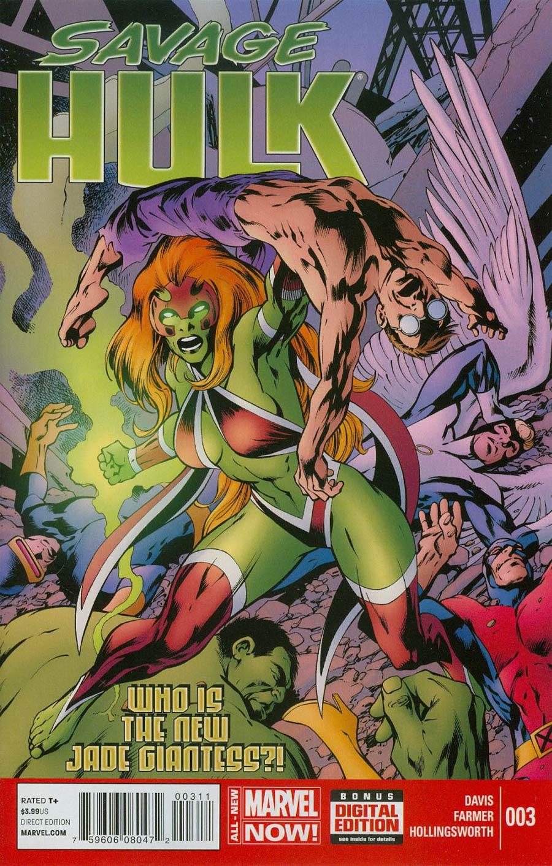 Savage Hulk #3 Cover A Regular Alan Davis Cover