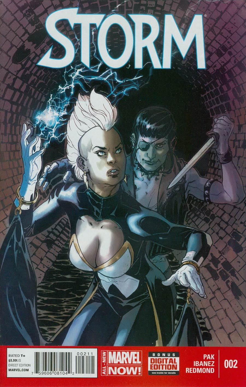 Storm Vol 3 #2 Cover A Regular Victor Ibanez Cover