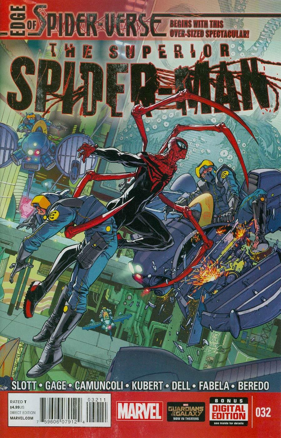 Superior Spider-Man #32 Cover A Regular Giuseppe Camuncoli Cover