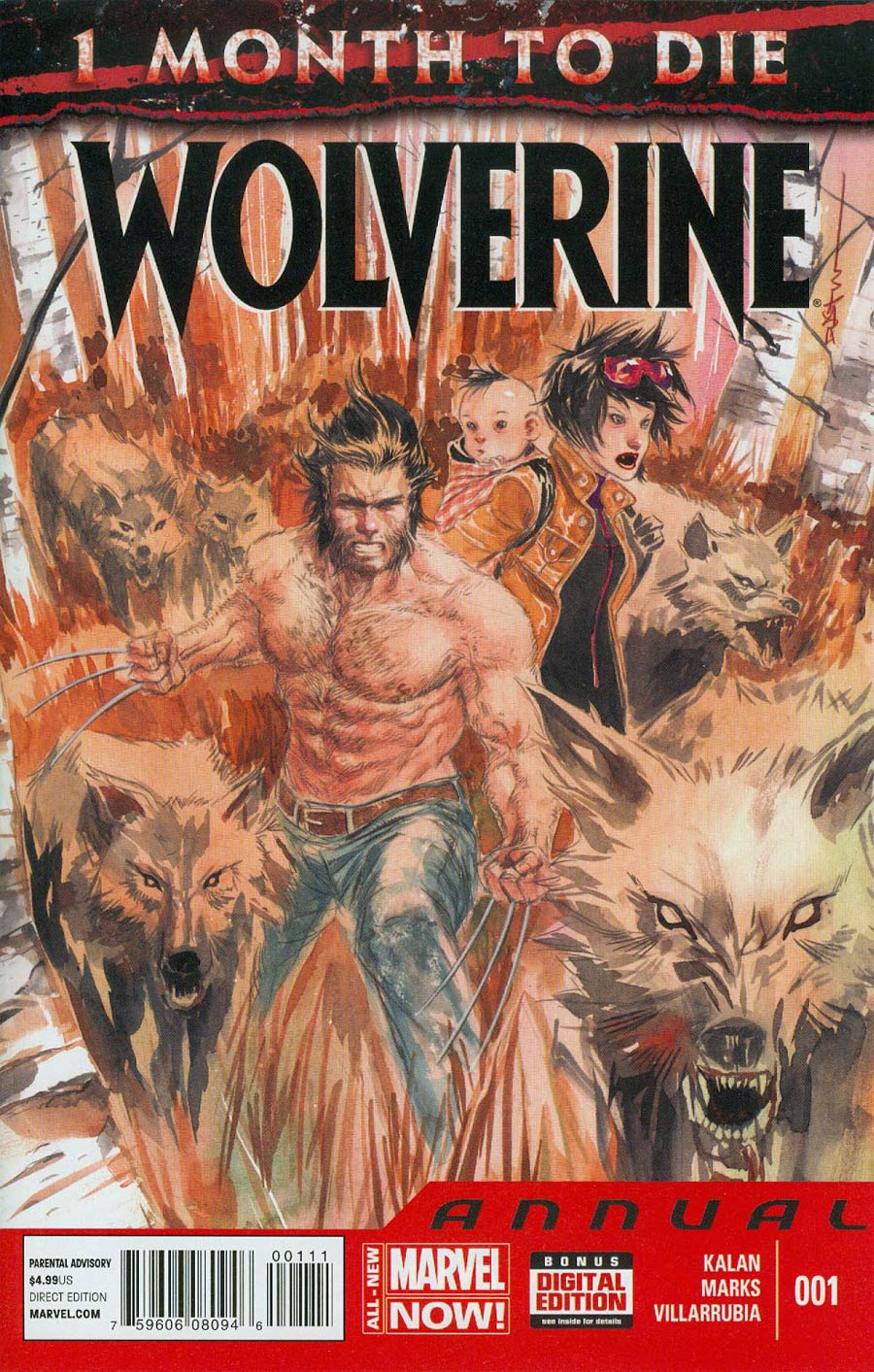 Wolverine Vol 6 Annual #1 Cover A Regular Dustin Nguyen Cover (3 Months To Die Tie-In)