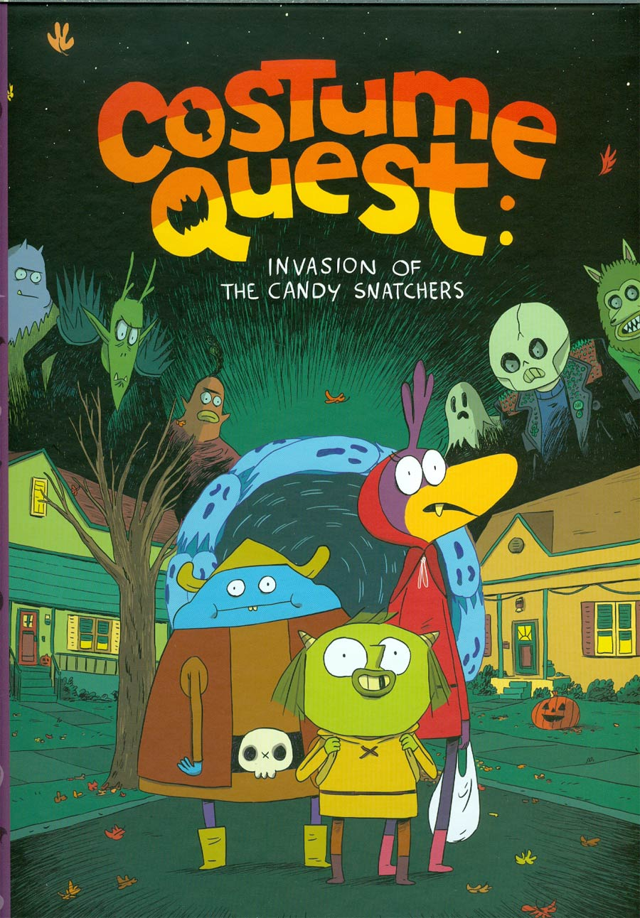 Costume Quest Invasion Of The Candy Snatchers HC