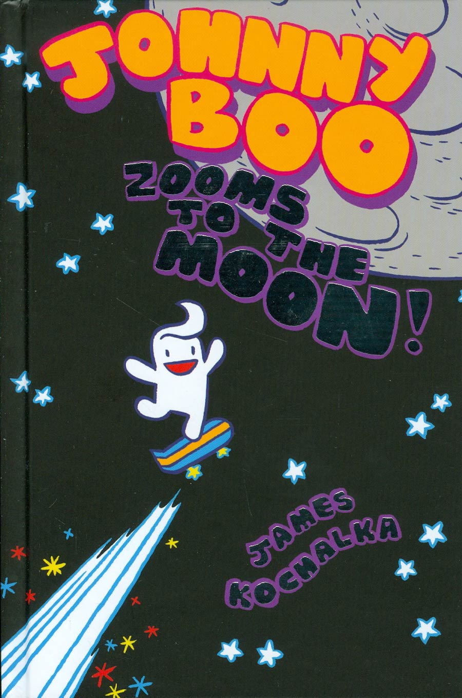 Johnny Boo Vol 6 Zooms To The Moon HC