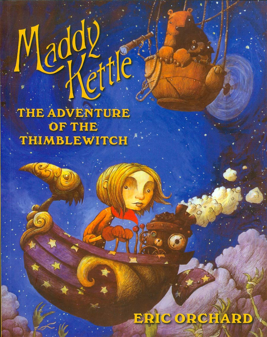 Maddy Kettle Vol 1 Adventures Of The Thimblewitch GN