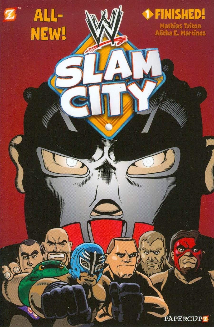 WWE Slam City Vol 1 Finished TP