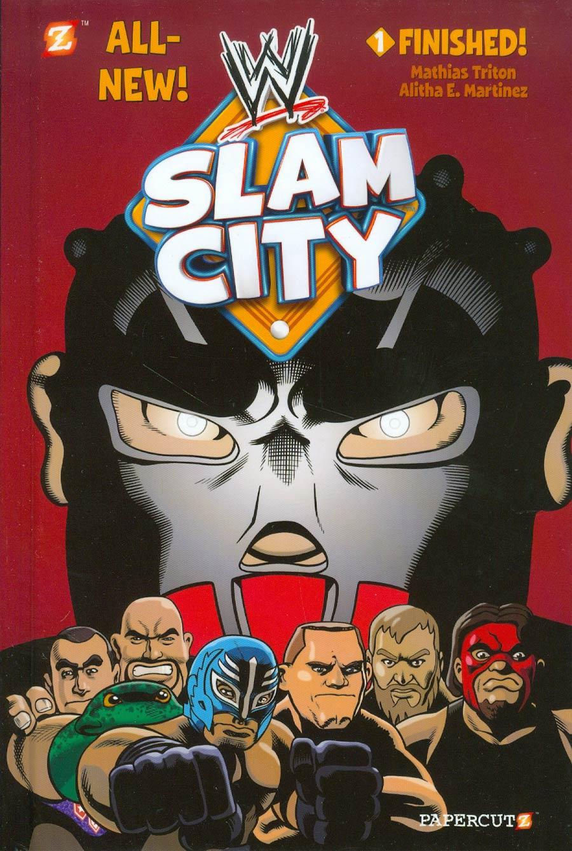 WWE Slam City Vol 1 Finished HC