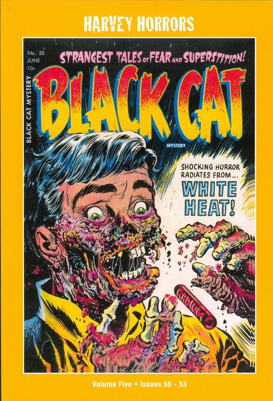 Harvey Horrors Collected Works Black Cat Mystery Softie Vol 5 TP