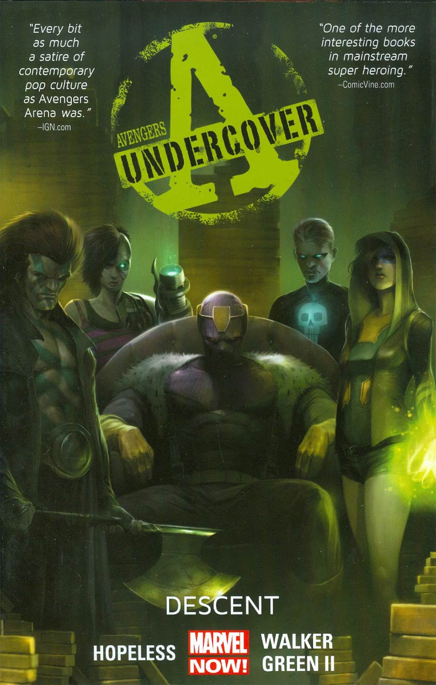 Avengers Undercover Vol 1 Descent TP