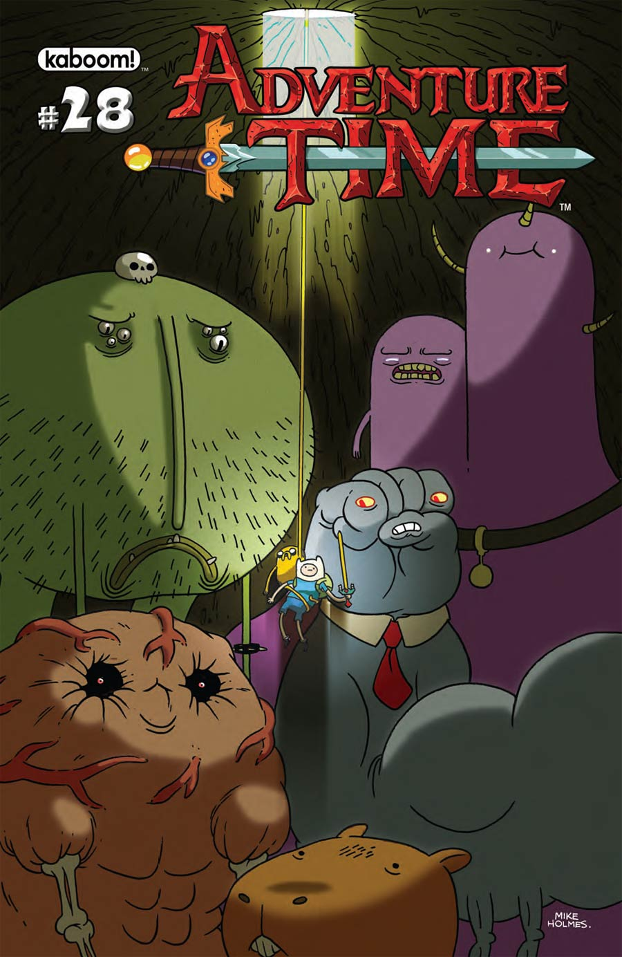 Adventure Time #28 Cover A Regular Mike Holmes Cover