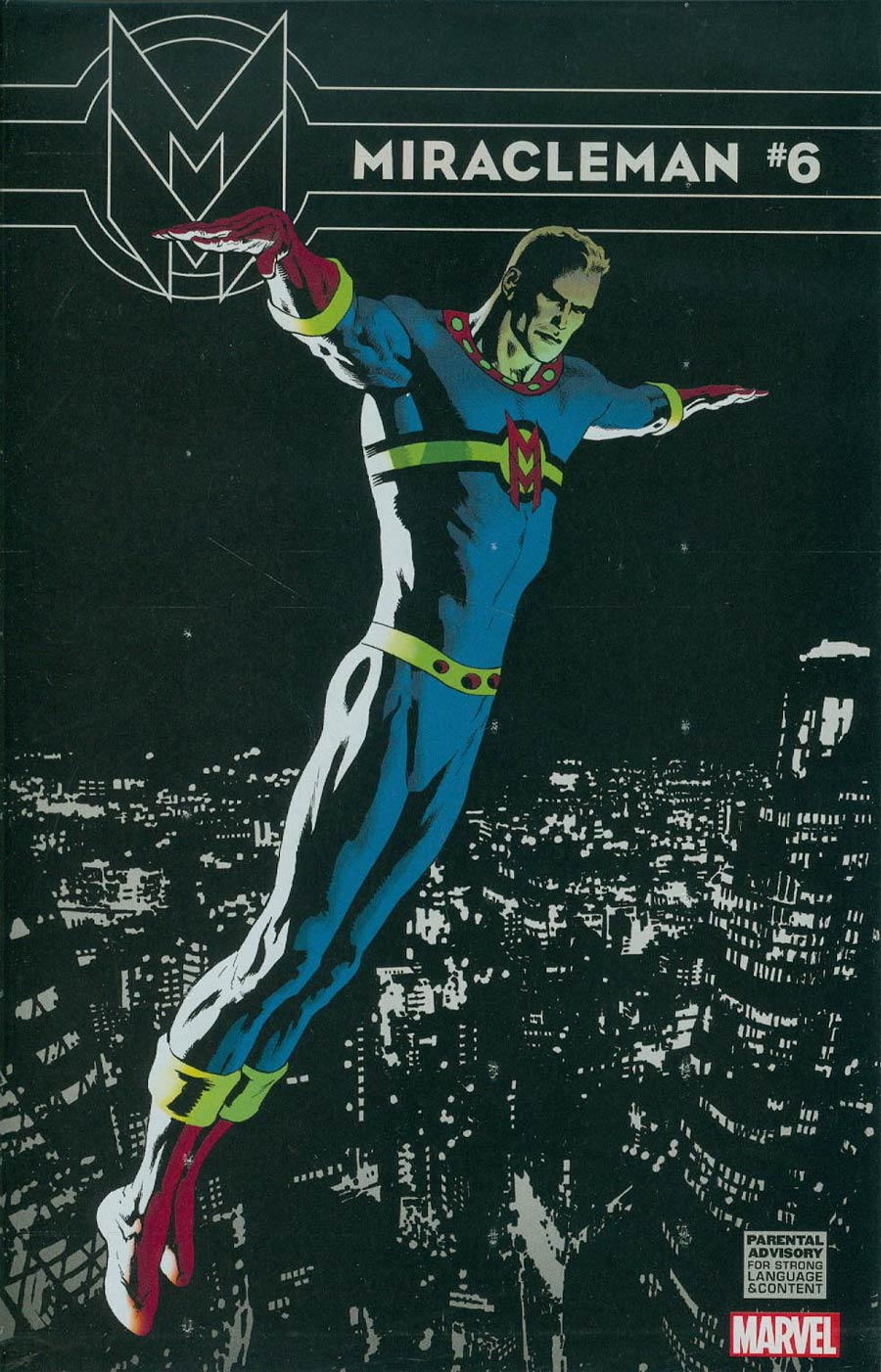 Miracleman (Marvel) #6 Cover F Incentive Kevin Nowlan Variant Cover Without Polybag