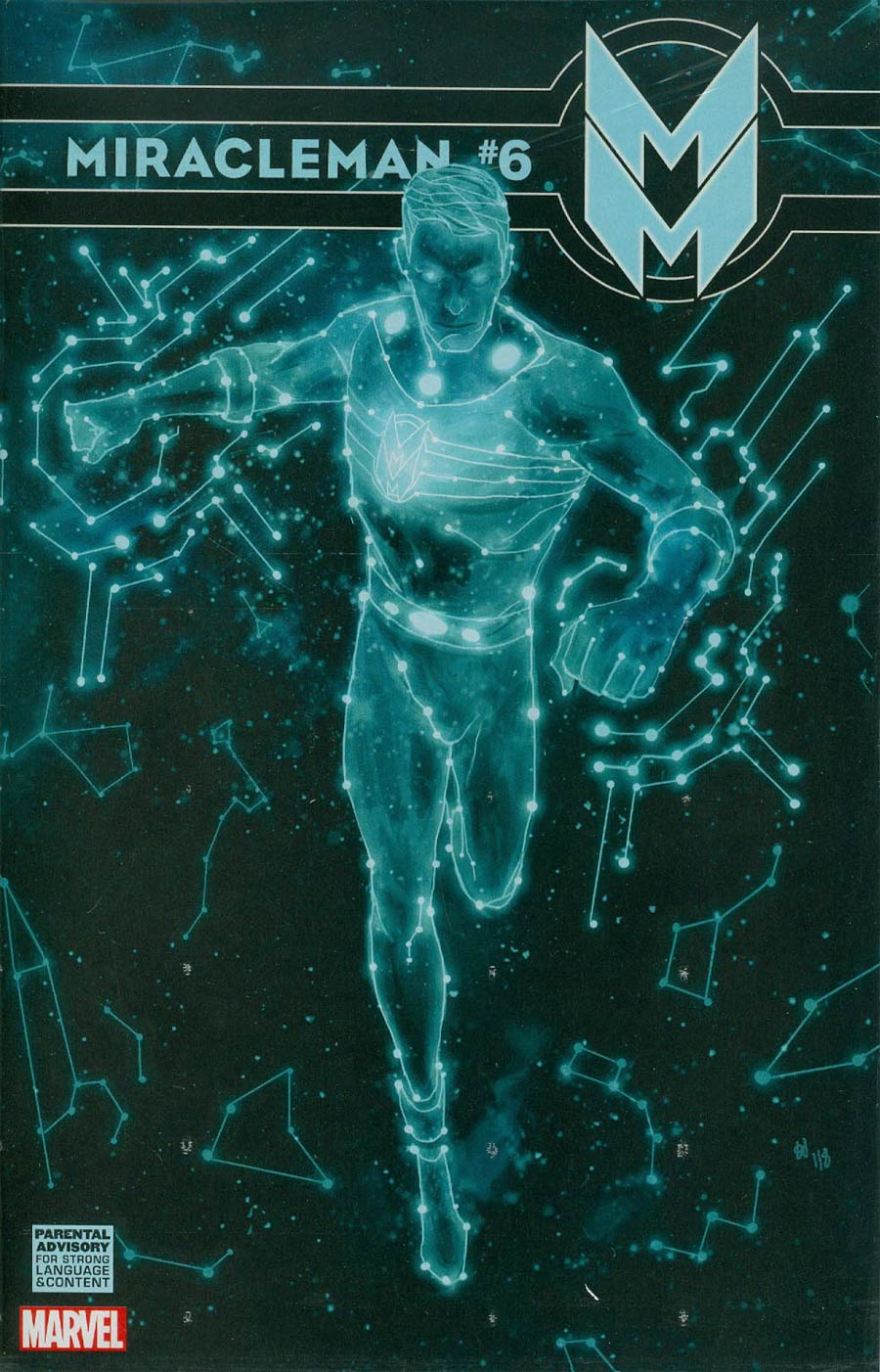 Miracleman (Marvel) #6 Cover G Incentive Mike Del Mundo Variant Cover Without Polybag